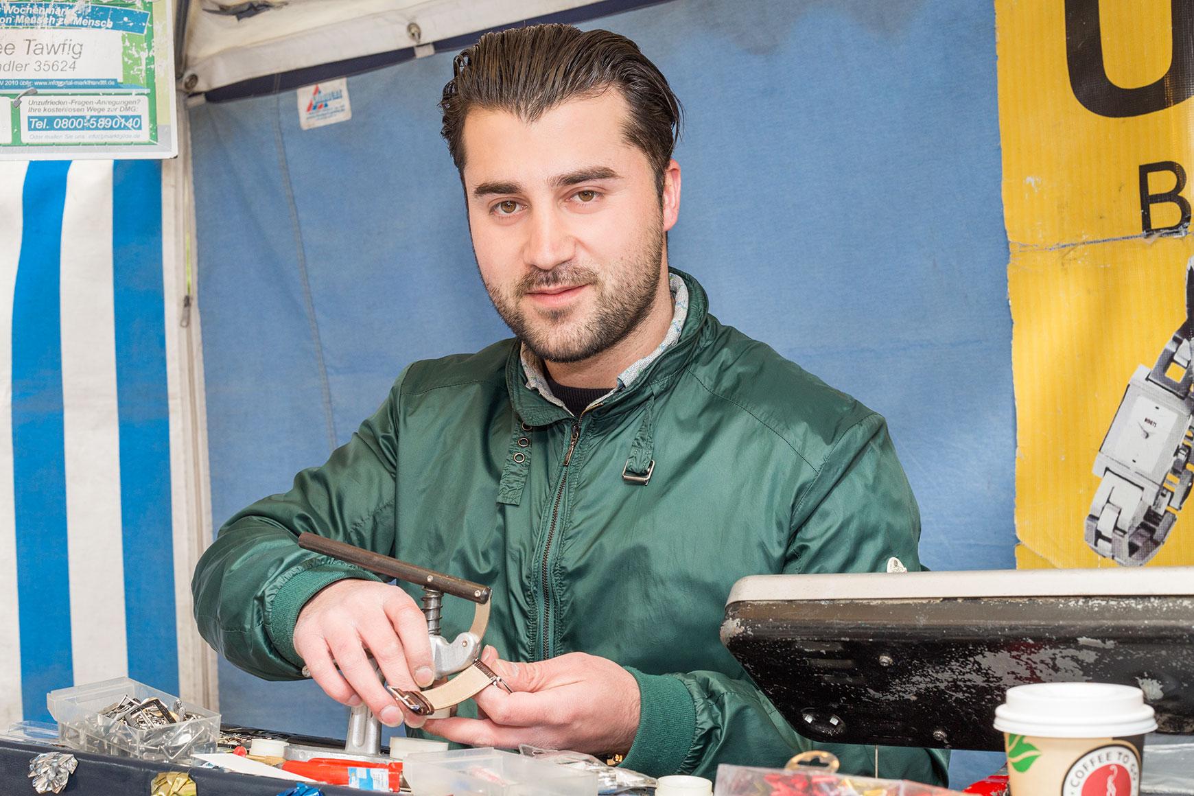 Zhee Tawfig Uhrmacherhandwerk